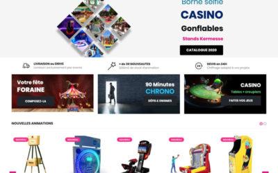 Identité visuelle, site web vente en ligne, catalogue – Evenia